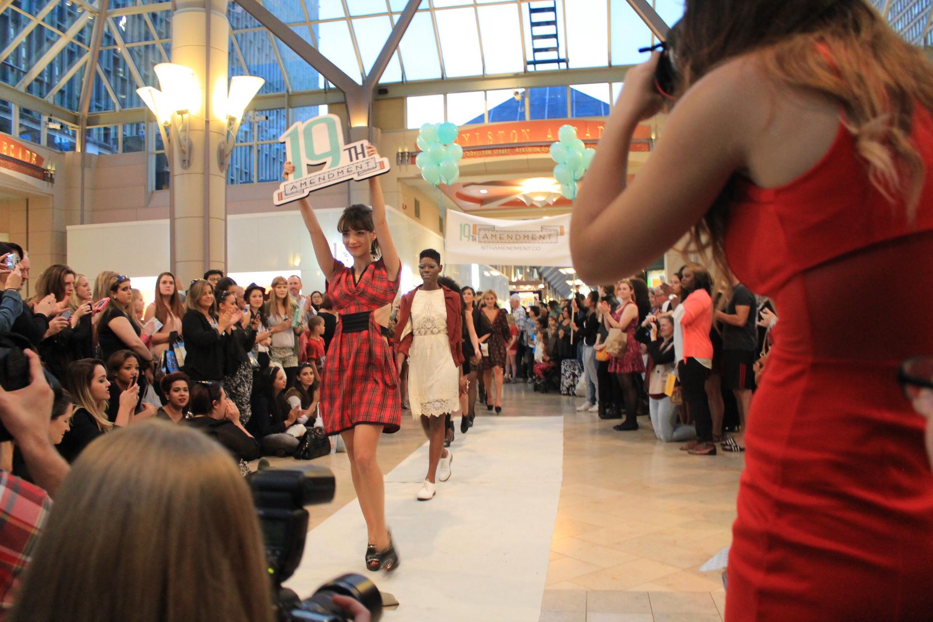 Boston Fashion Week  Volunteer